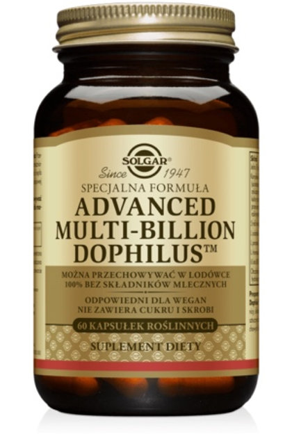 SOLGAR Advanced Multi-Billion Dophilus 60Kaps