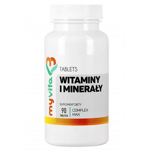 MyVita Witaminy i Minerały Complex 90 tabletek
