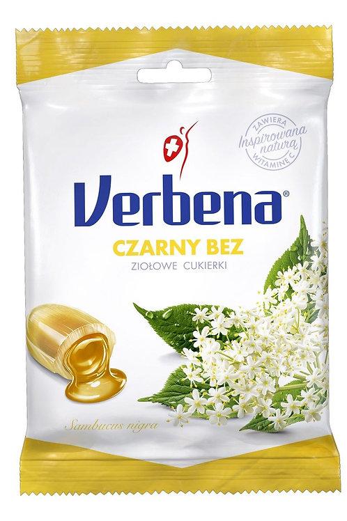 Cukierki ziołowe Czarny Bez 60g VERBENA