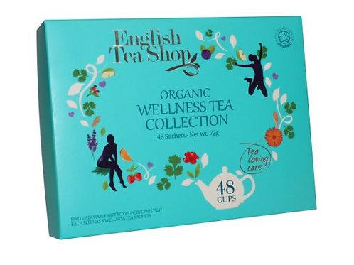 Kolekcja herbat Organic Wellness Gift Tray – 48 saszetek