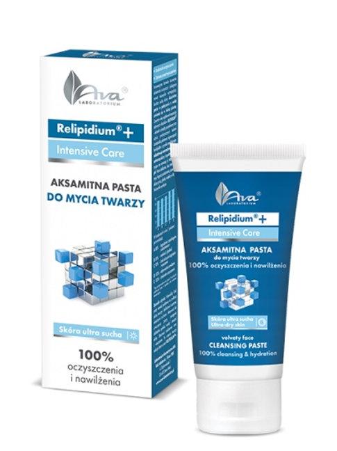 Relipidium Aksamitna Pasta Do Mycia Twarzy 50ml