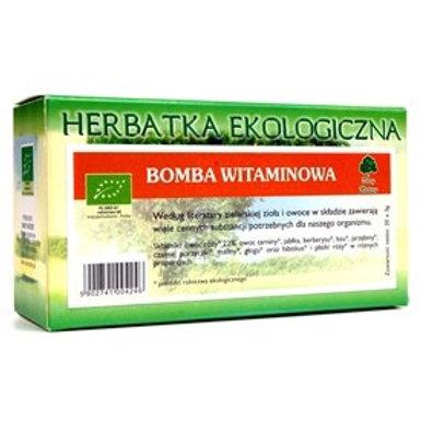 Herbatka bomba witaminowa EKO 20x3g