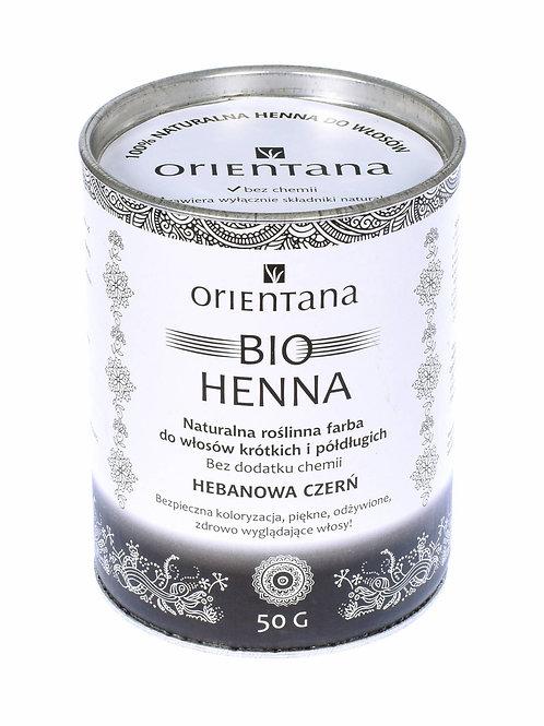 BIO Henna Czerń 50g Orientana