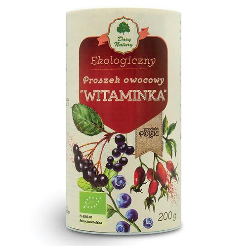 """Proszek owocowy """"Witaminka"""" BIO 200g DARY NATURY"""