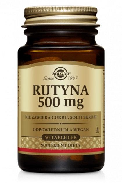 SOLGAR Rutyna 500mg 50tabl