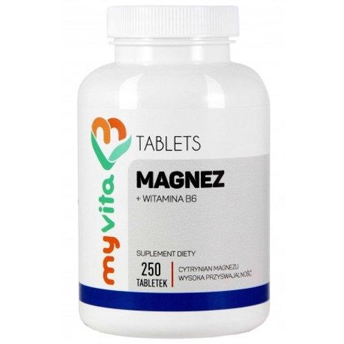 Magnez+B6 450mg 250tabl.