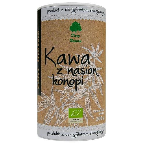 Kawa z nasion konopi (tuba) BIO 200g DARY NATURY