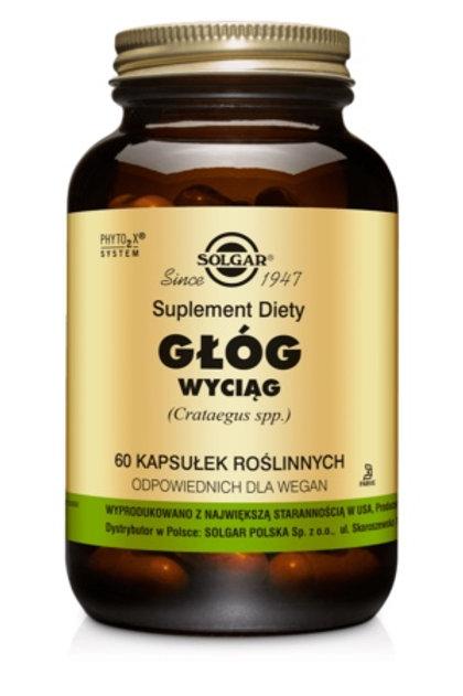 SOLGAR Głóg Wyciąg 60kaps