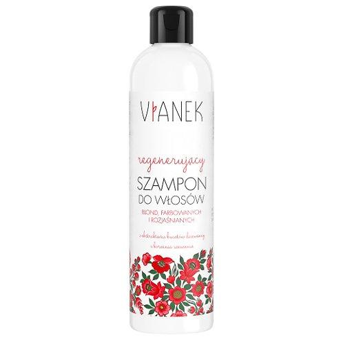 Regenerujący szampon do włosów blond, farbowanych, rozjaśnianych