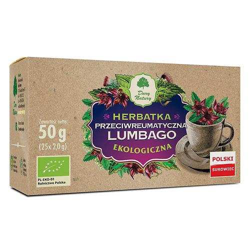 Herbata Lumbago przeciwreumatyczna fix BIO 25*2g DARY NATURY