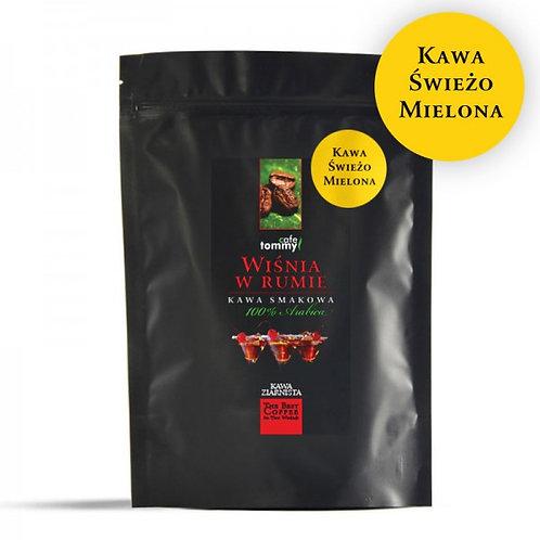 Kawa Smakowa Wiśnia w Rumie Mielona