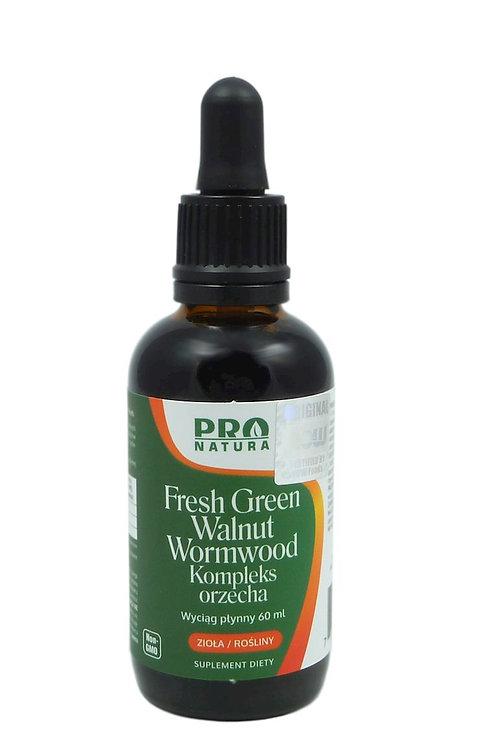 Fresh Green Walnut - Kompleks orzecha 60ml PRO NATURA