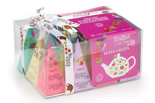 Kolekcja owocowych herbat – 12piramidek-English Tea Shop
