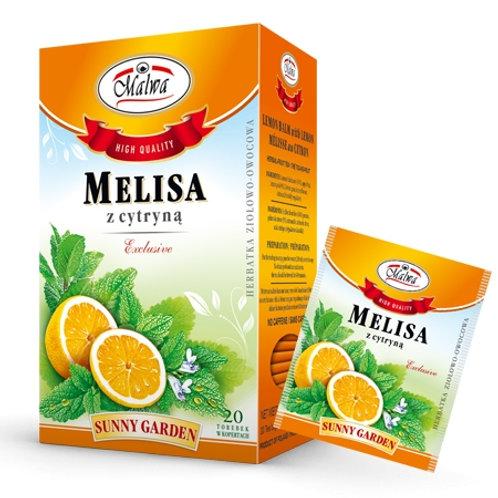 Melisa z cytryną 20*1,5g fix MALWA