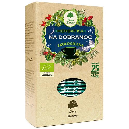 Herbata Na Dobranoc fix BIO 25*2g DARY NATURY