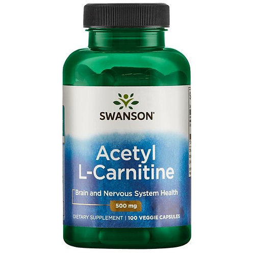 Acetyl L- Carnitine 500mg 100kaps.