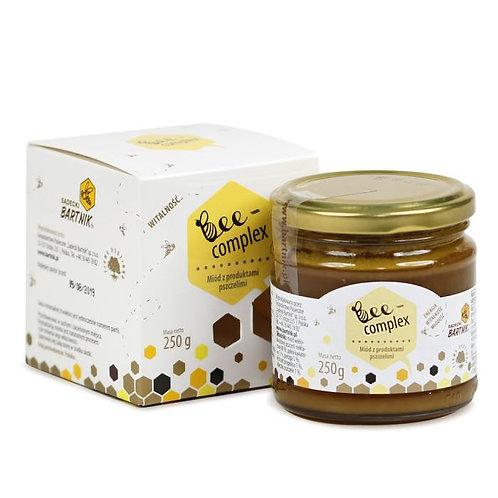 BARTNIK Bee Complex 0,25kg (miód + pyłek + pierzga + propolis + mleczko pszczele