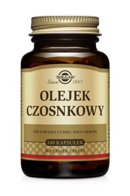 SOLGAR Olejek Czosnkowy 100kaps