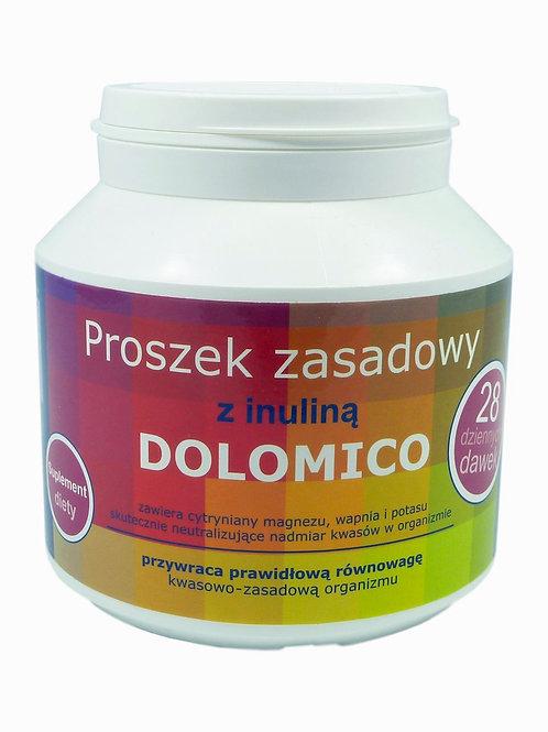 Proszek zasadowy z inuliną 200g DOLOMICO