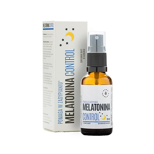 AURA HERBALS Melatonina Control + ekstrakt z melisy - spray 20ml