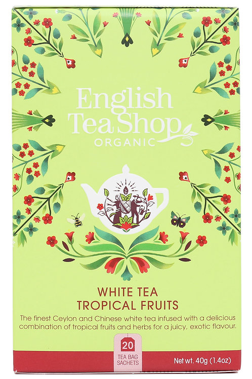 Biała Herbata z Owocami Tropikalnymi - English Tea Shop
