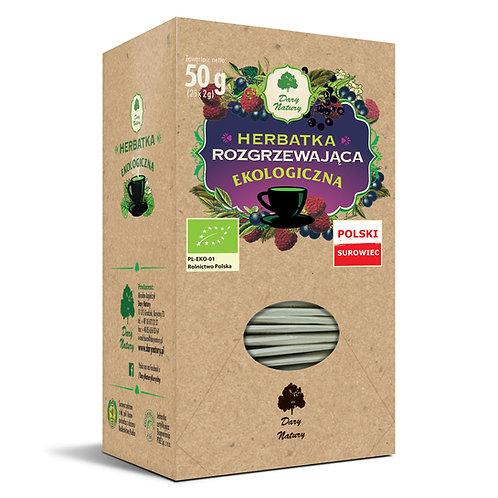 Herbata Rozgrzewająca fix BIO 25*2g DARY NATURY
