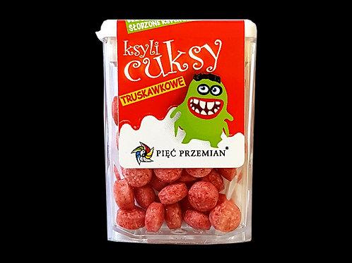 PIĘĆ PRZEMIAN Cuksy truskawkowe z ksylitolem 13g