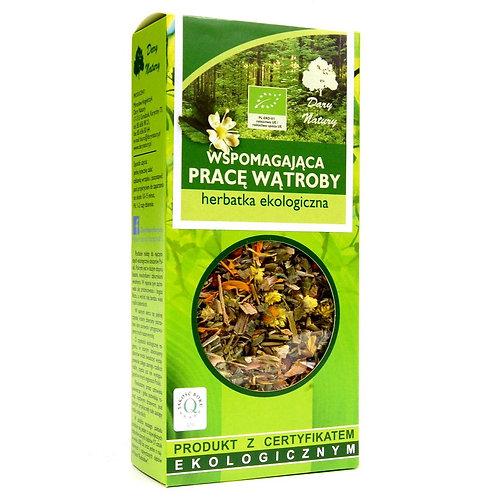 Herbata Wspomagająca pracę wątroby 50g BIO DARY NATURY