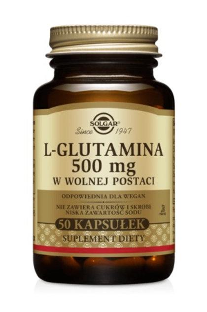 SOLGAR L- Glutamina 500mg 50Kaps