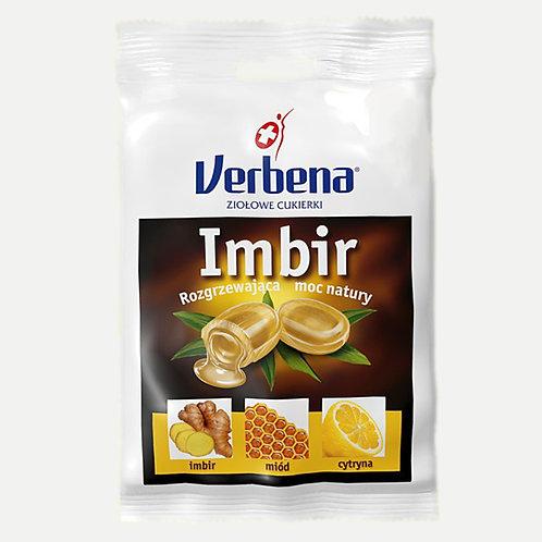 Cukierki ziołowe Imbir 60g VERBENA