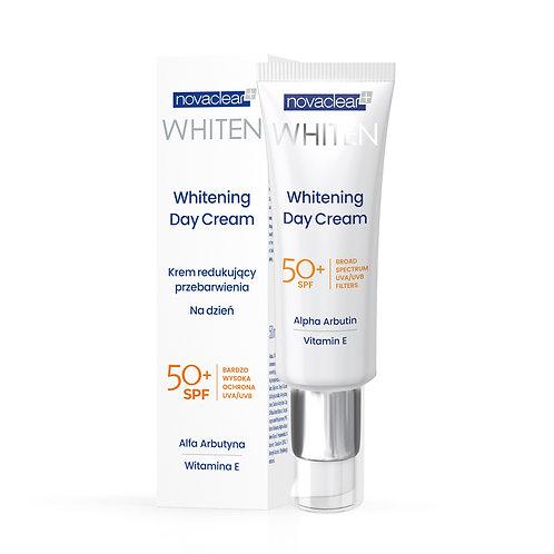 Whitening day cream. Wybielający krem na dzień. SPF 50+, 50ml