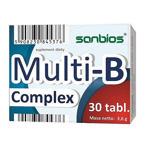 Multi-B Complex 30 tabletek 120mg