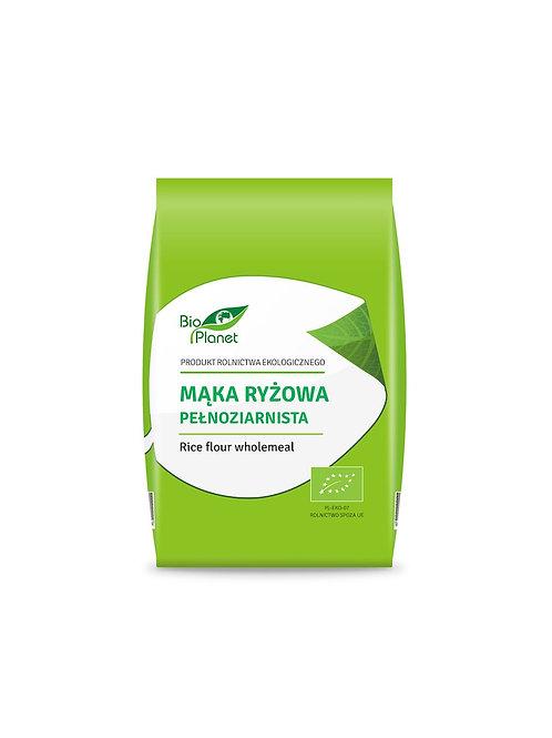 BIO PLANET Mąka ryżowa pełnoziarnista BIO 500g