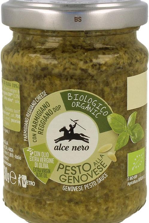 ALCE NERO Pesto Genovese (sos bazyliowy) BIO 130g