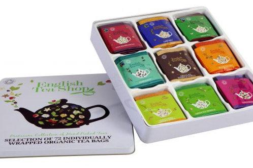 Kolekcja herbat w metalowej puszce Luxury Tea Gift – 72 saszetki