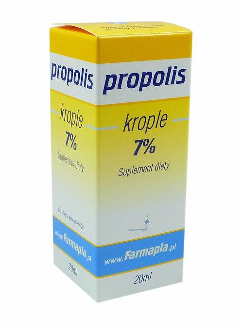 Propolis krople 7% 20ml FARMAPIA