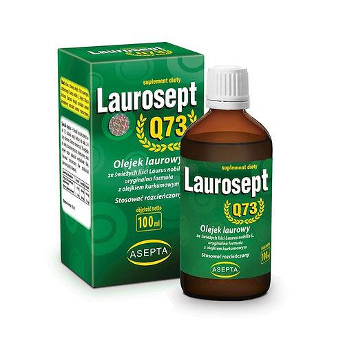 ASEPTA Laurosept Q73 100ml - Olejek laurowy + olejek z kurkumy