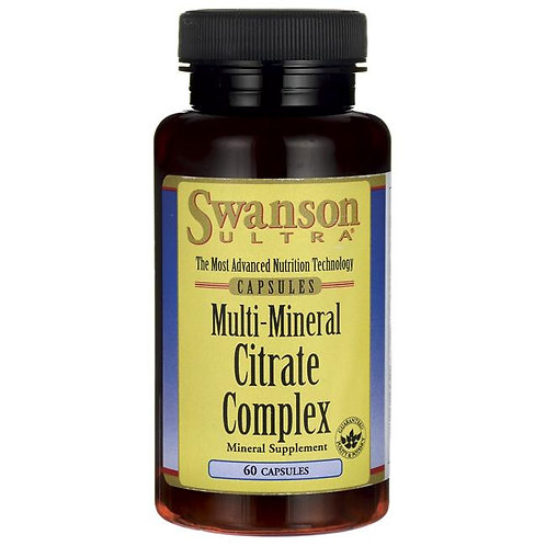 Cytryniany - Multi Mineral Citrate Complex 60tabl.