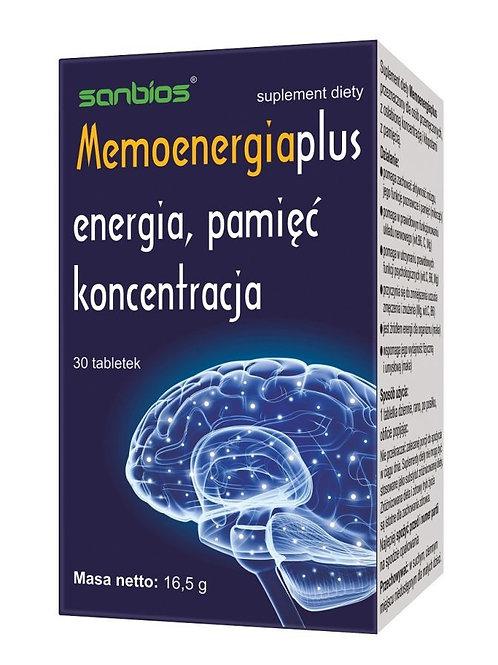 Memoenergia energia 30 tabletek 550mg
