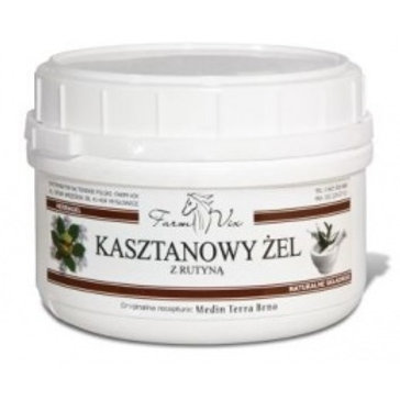 FarmVix Kasztanowy ŻEL z rutyną 350g