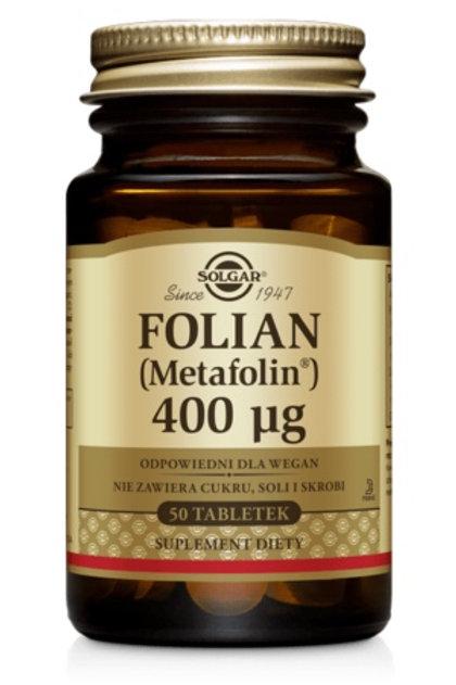 SOLGAR Folian 400mcg 50tabl