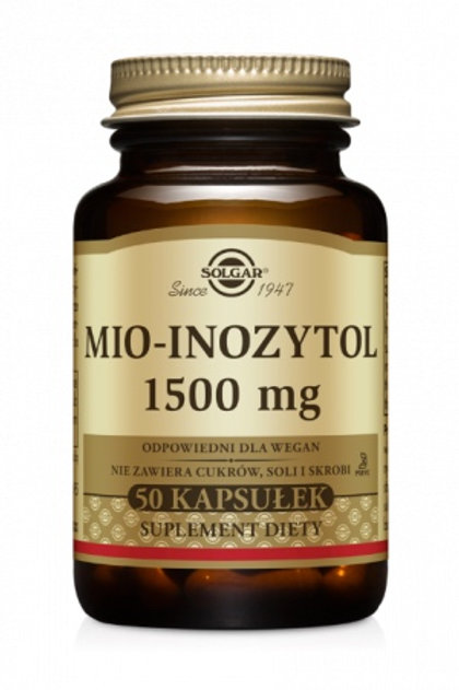 Solgar Mio Inozytol 1500mg 50kaps