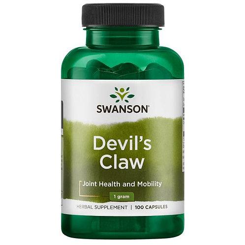 SWANSON Devil's Claw 500mg, 100kaps. - Diabelski szpon