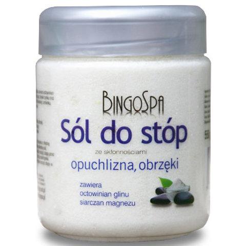 BINGOSPA Sól do stóp opuchlizna, obrzęki 550g