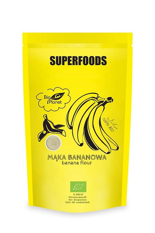SUPERFOODS Mąka bananowa BIO 200g BIO PLANET