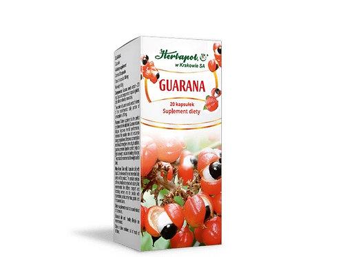 Guarana Suplement Diety 20 kapsułek
