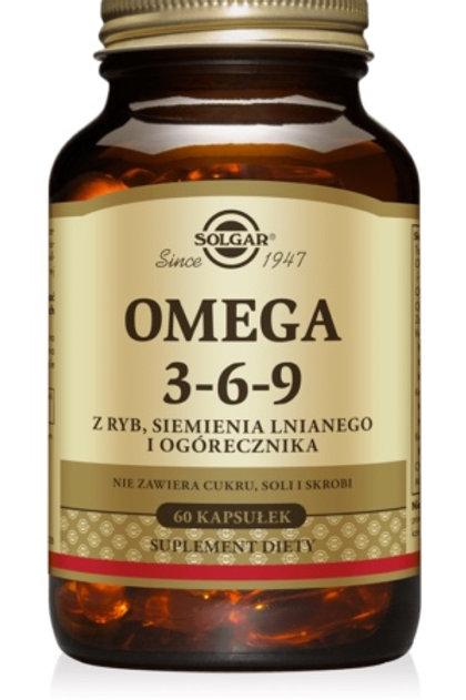 SOLGAR Omega 3 6 9 60 kaps