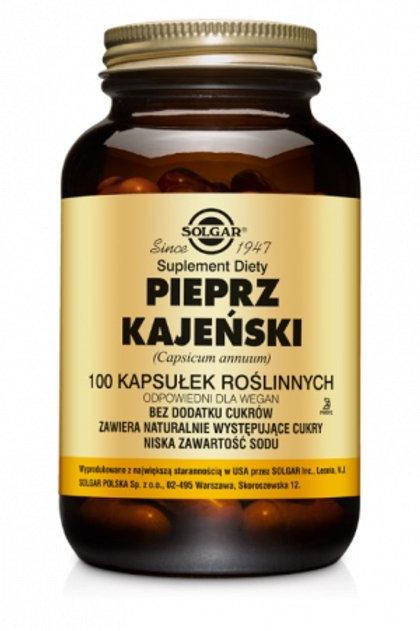Solgar Pieprz Kajeński 100kaps
