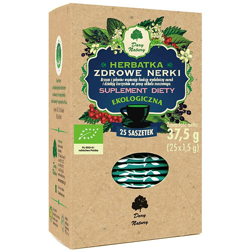 Herbata Zdrowe Nerki fix BIO 25*1,5g DARY NATURY