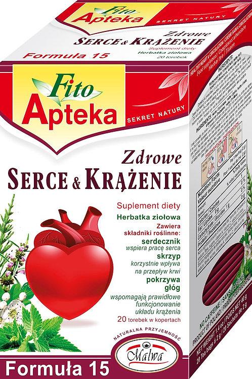 F15 Zdrowe Serce & krążenie herbata 20*2g